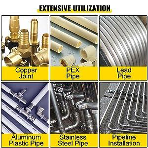 pipe press tool