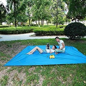 Can use as Camping Tarp