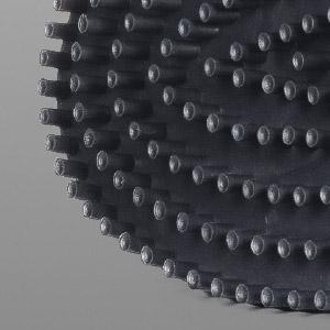 ovaler winwinCLEAN WC CLEANER Reinigungskopf mit Konkav-Borsten, Detail