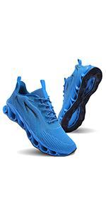sky blue men shoes