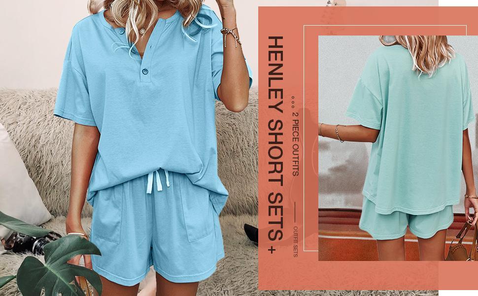 Henley Short Sets for women
