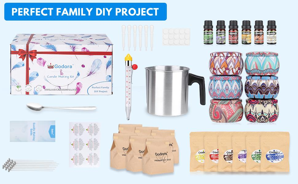 Soy Candle Making Kit for Adults Beginners