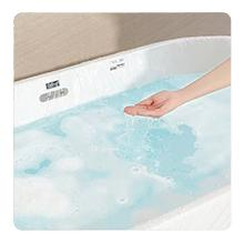 Put water in bath tub
