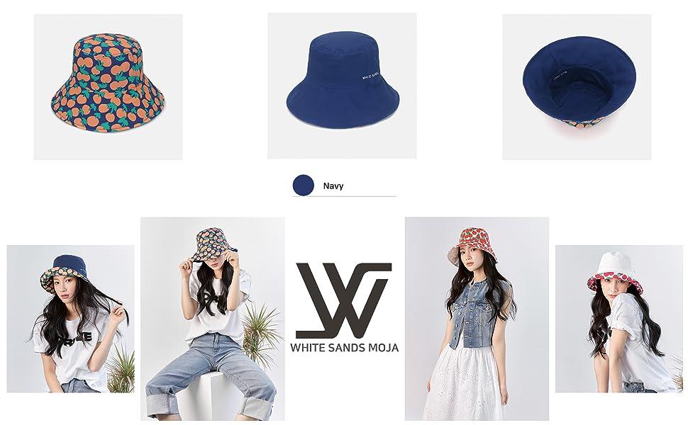 Cherry Reversible Bucket Hat