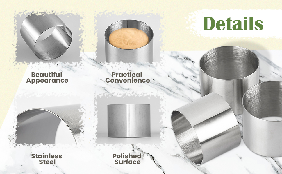 Stainless steel material, durable and not rusty.