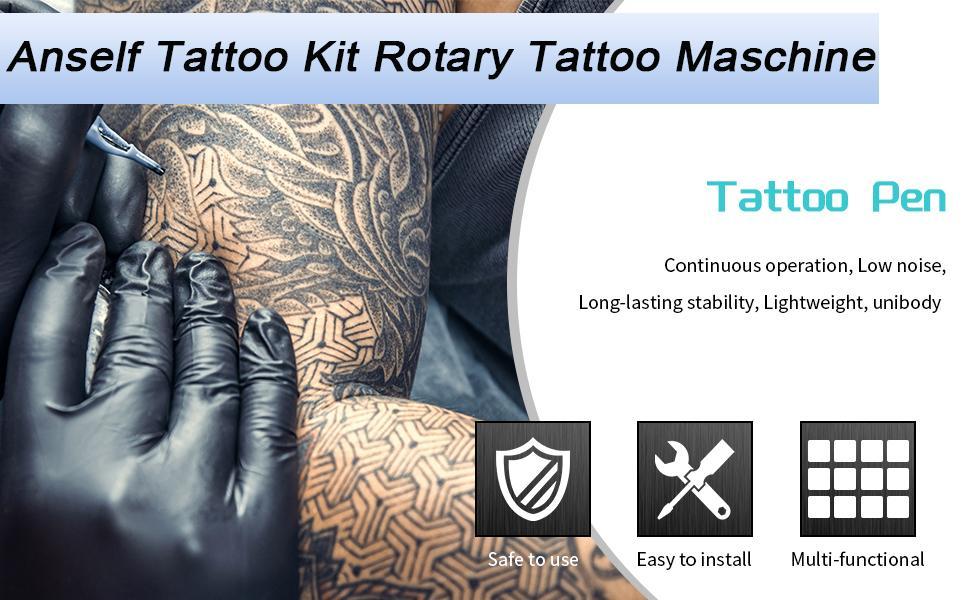 Cartridge Tattoo Machine Kit