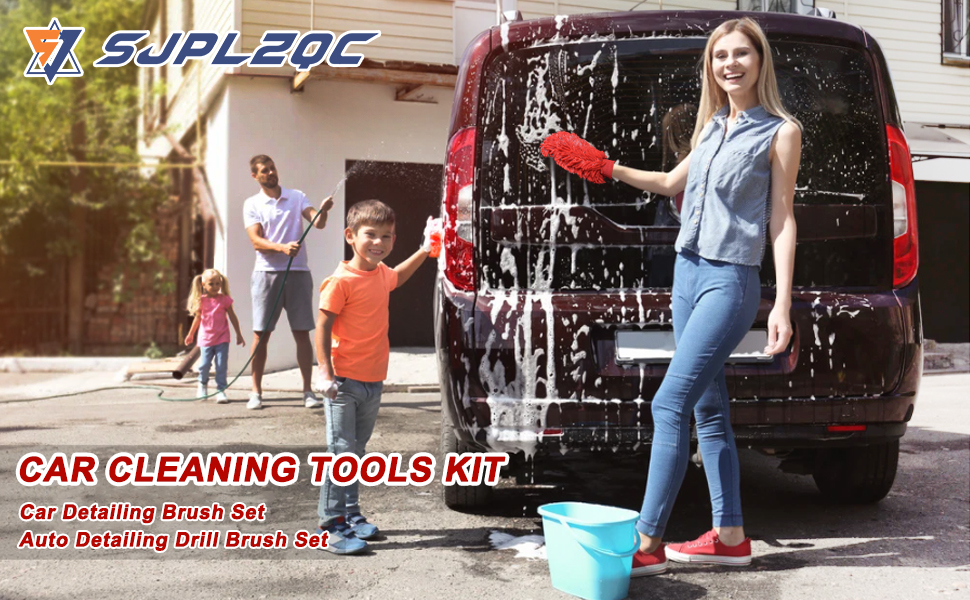 Car Cleaning Tools Kit