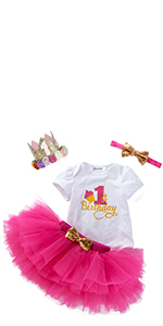 Baby First Birthday Skirt