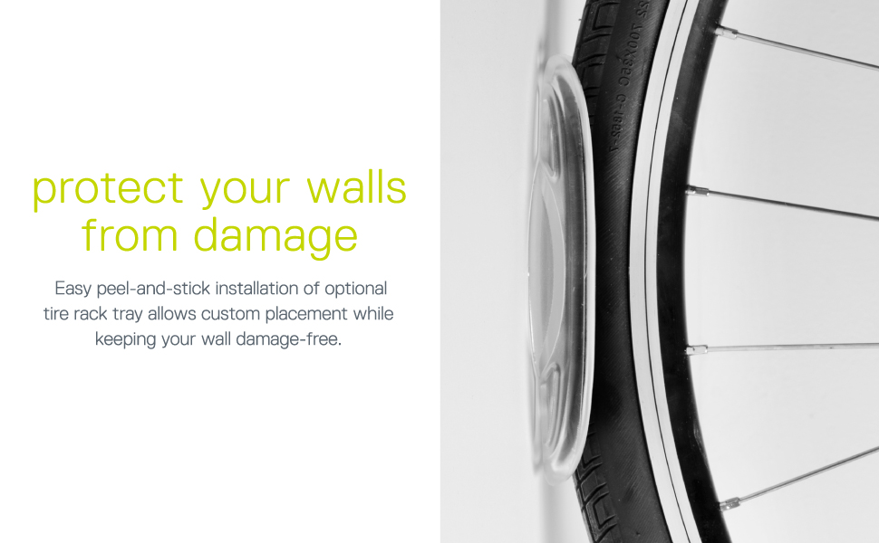 protect your walls and bike