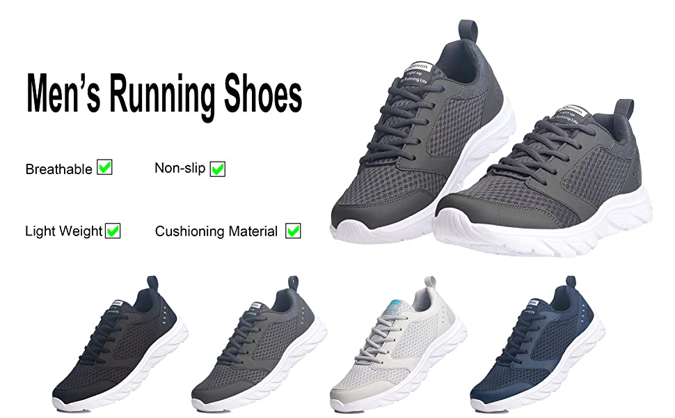 IQimon Running Shoes Color Display