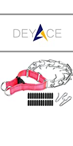 Pink Prong Collar
