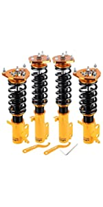 Coilovers Toyota Corolla Suspension Spring Lower Strut Shock Absorber Adjustable Height Lowering