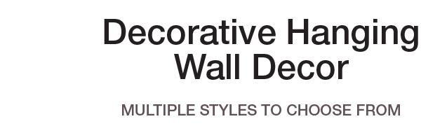 Decorative Hanging Wall Decor