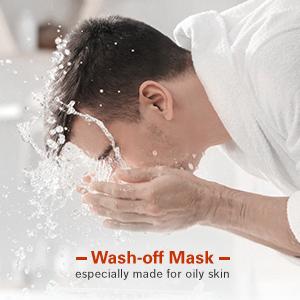 Wash-off mask