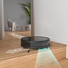 anti-drop robotic vacuum cleaner