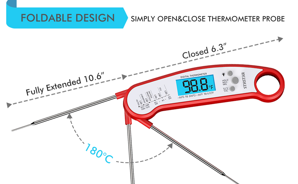 Thermometer for meat h