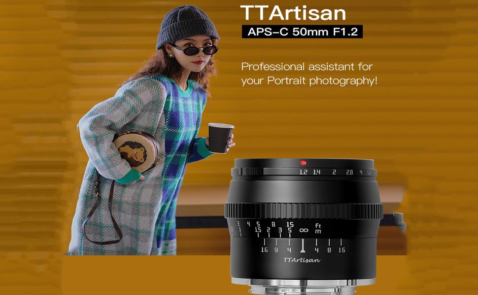 TTArtisan 50mm f1.2 for FUJI X mount, TTArtisan camera lens , TTArtisan for fuji,camera lens,