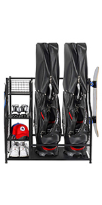 Golf Bag Storage Stand