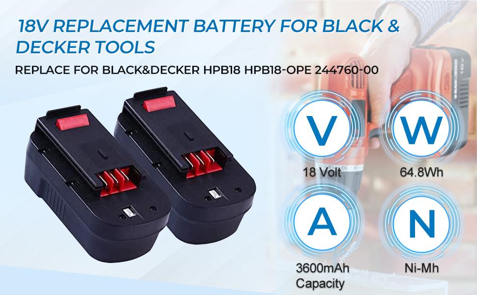 For Black amp;amp;amp; Decker 20-Volt Cordless Drill Power Tool