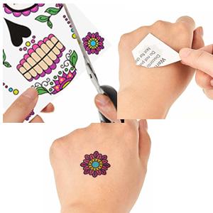 Men Women face tattoos