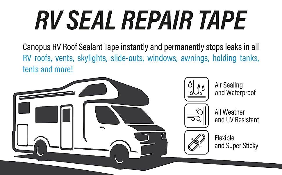 travel trailer 4 inch corner vinyl seam dicor leak extreme awning gutter epdm tite metal tan