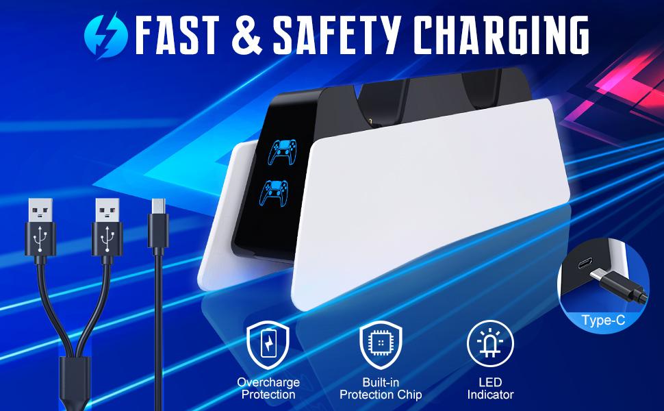 fast charging playstation 5