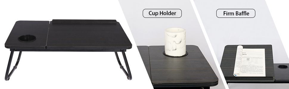 Cup Holder/ Foldable Legs/ Firm Baffle