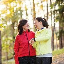 Two People Hiking