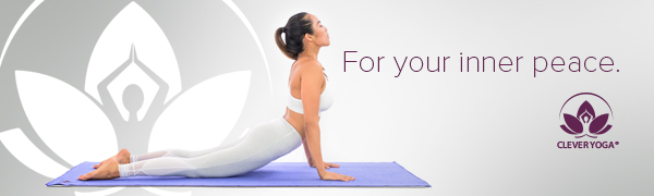clever yoga banner up dog