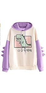 cute dinosaur hoodies