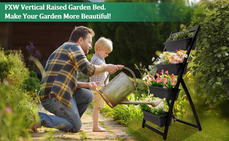 FXW Vervital Raised Garden Bed. Make Your Garden More Beautiful!