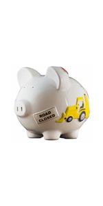 large work truck piggy bank