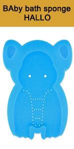 Elephant Baby bath sponge