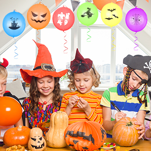 party games for kids,halloween balloon garland,halloween treats,prizes for kids,halloween bowl