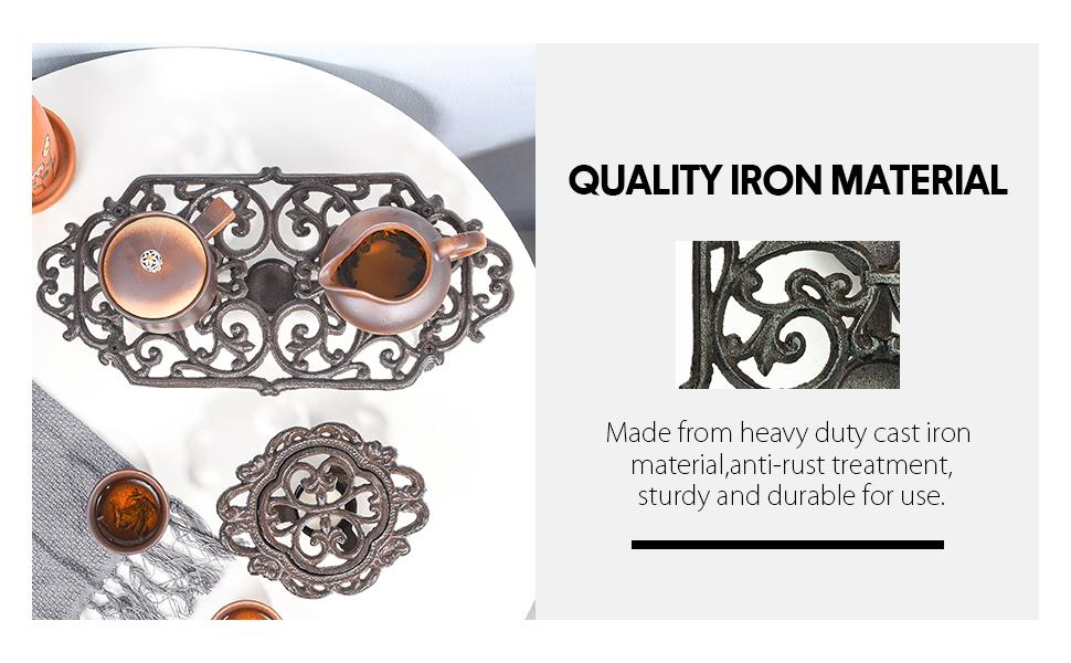 quality iron material