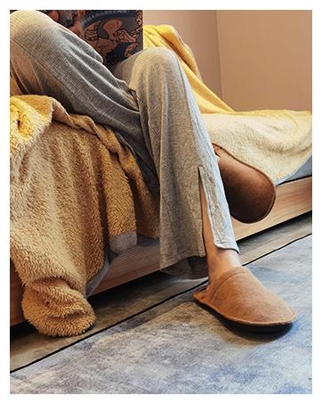sofa women house slippers