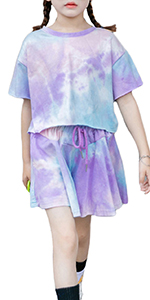 niña conjunto de ropa de verano