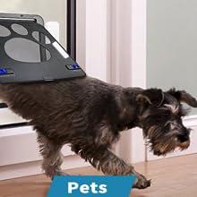 Pet's door chime