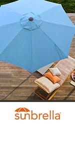 sunbrella blue