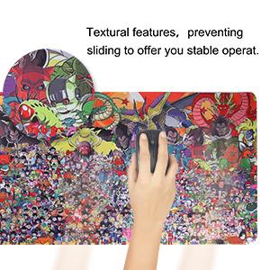 Soft cloth surface