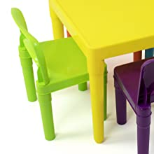 kids plastic table and chairs set children furniture playroom organization