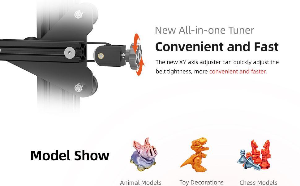 Aquila FDM 3D Printer