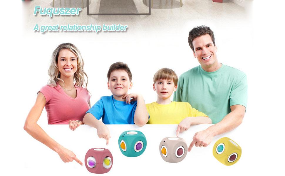 Relationship-promoting Finger cube Spinner