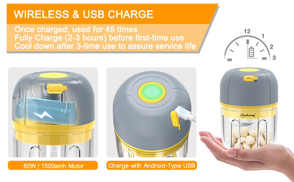 wireless usb chargeable
