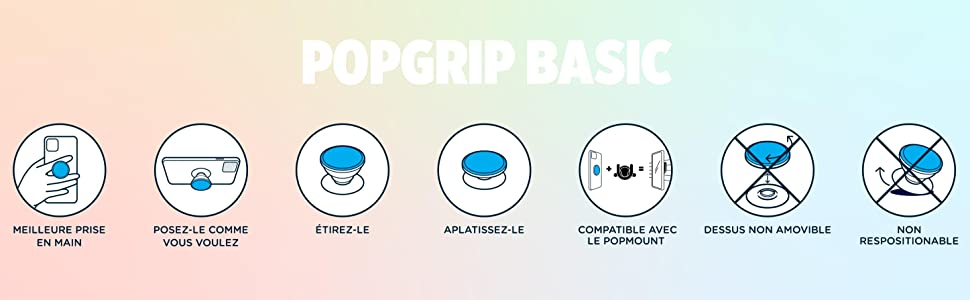 PopSockets PopGrip Basic Infographics