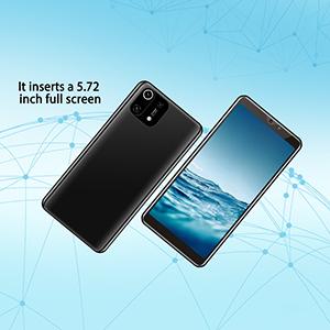 It inserts a 5.72 inch full screen
