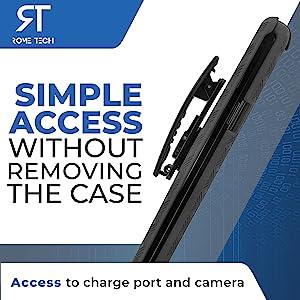 Samsung A50 case with clip