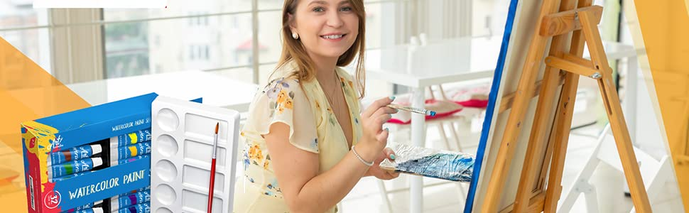 watercolor paint set painting water set colors paints adult supplies professional artist artists