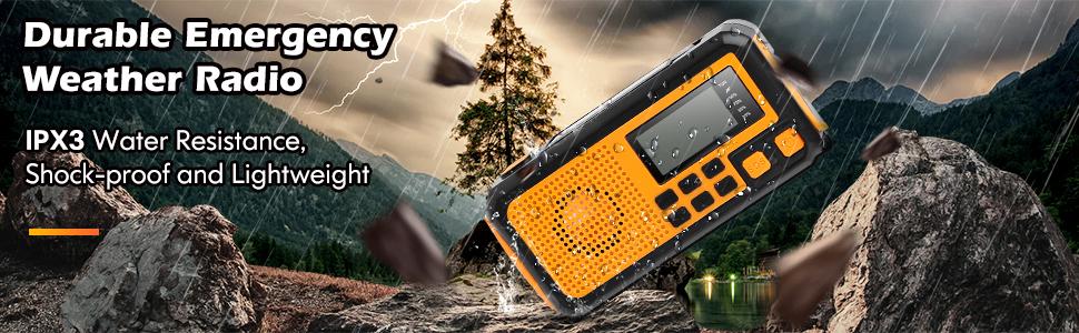 Rugged Weather Radio