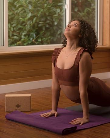 halfmoon yoga products block mat